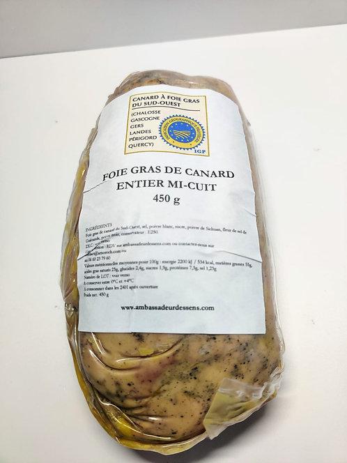 Foie Gras de Canard Entier Mi-cuit – nature - IGP
