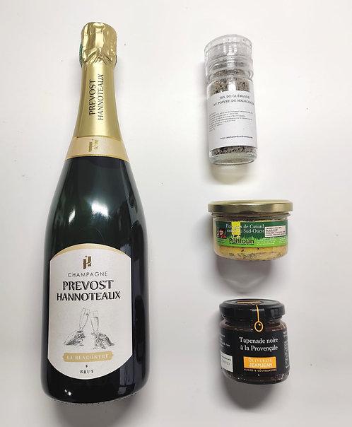 Apéro Visio - Champagne - Foie Gras Entier