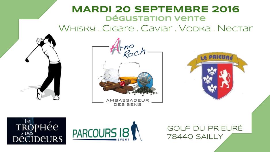 Programme - 4 dates - 4 events - 4 golfs