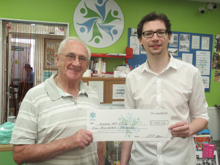 MICRO GRANTS AWARDED TO FISHLAKE VILLAGE HALL & ART CLUB