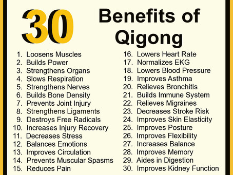 """I'm off half the amount of painkillers because of Qigong"""
