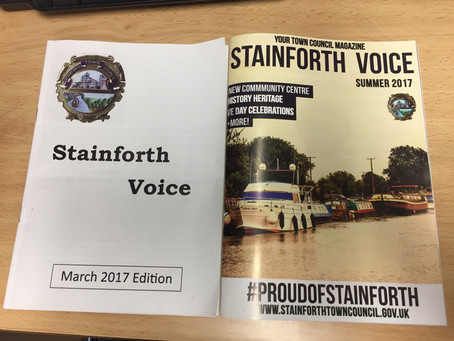 Stainforth Voice gets a makeover!