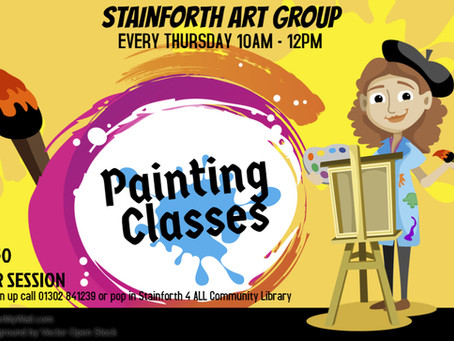 Stainforth Art Group now held at S4ALL