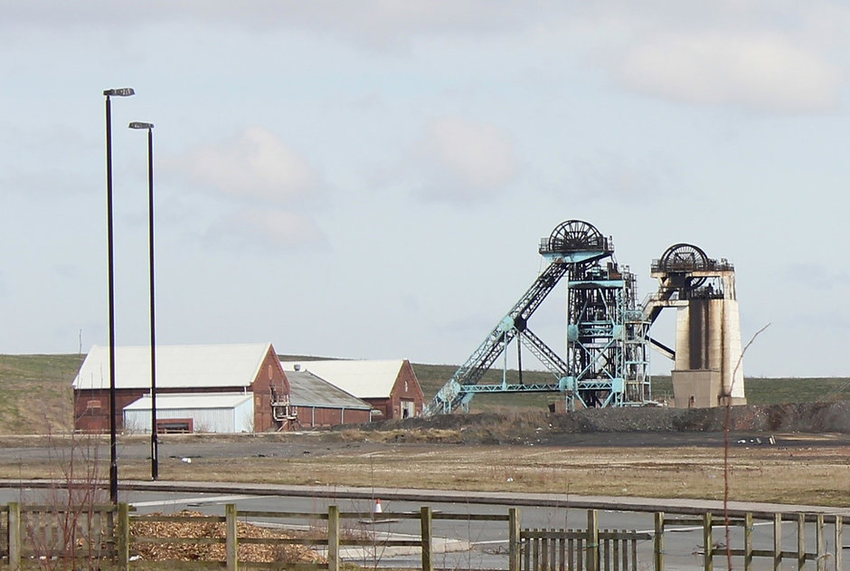 Hatfield Main Colliery Head Stocks and Winding Houses, Stainforth