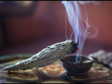 Focus on Energy for Healing and Spiritual Guidance- Sage
