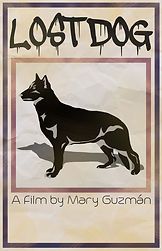 LOST DOG film poster art