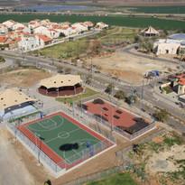 ספורט יד בנימין מרחבים אדריכלות נוף תכנו