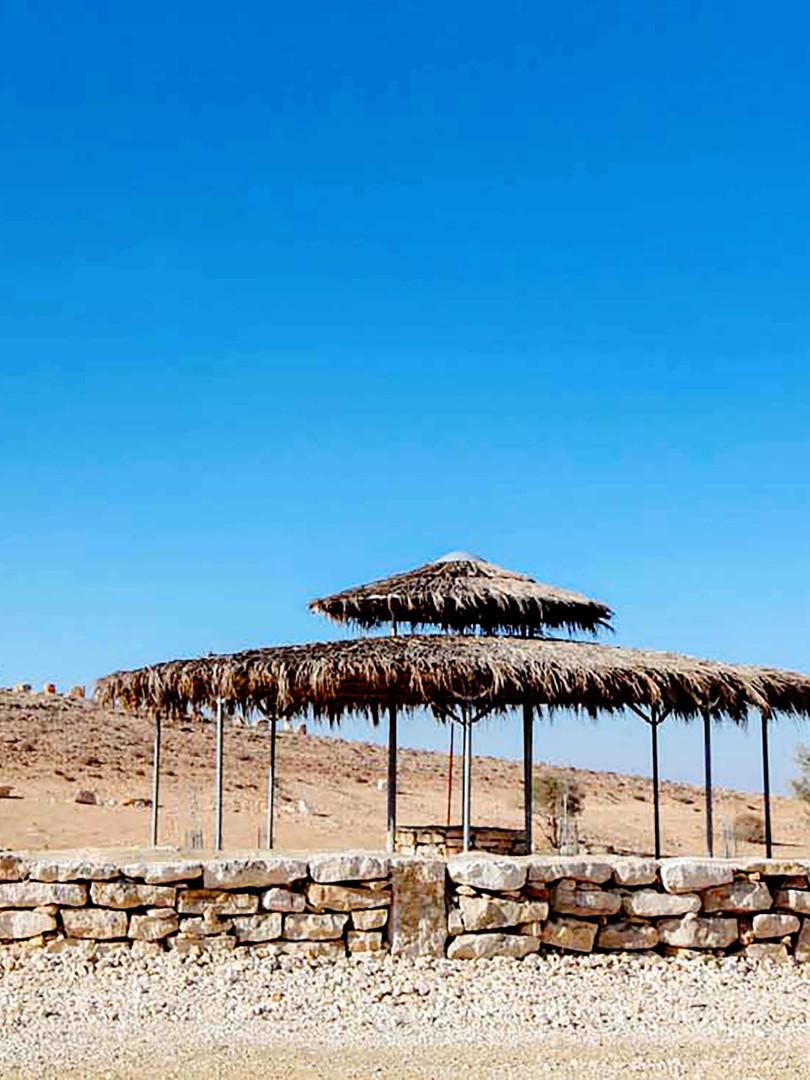 נחל חווה מצפה רמון שיקום נופי סביבתי מרח