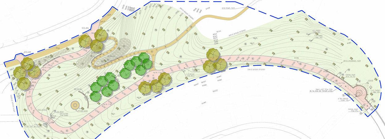 נחל חסד  פארק טבע עירוני מרחבים אדריכלות