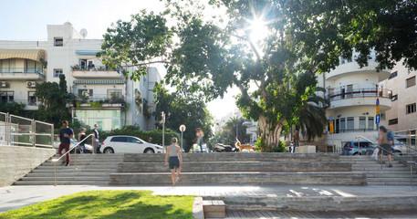 בית צעירות מזרחי מרחבים אדריכלות נוף למב
