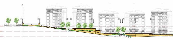 שכונת שער הגיא פיתוח נופי גינות בשכונות