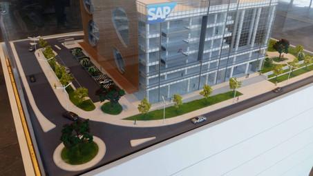 SAP פורטלס עיצוב מתחם מסחר רעננה מרחבים