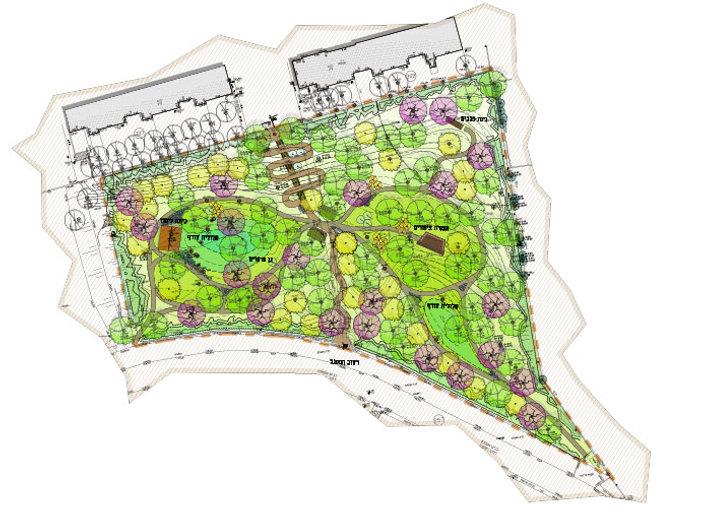 חורשת קובו קרית אונו פארק טבע מרחבים אדר