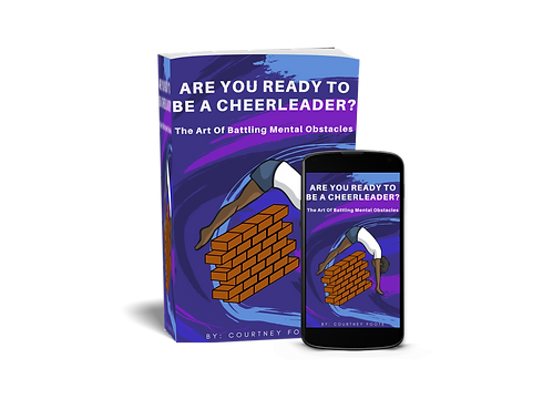Book Cover_Are You Ready To Be A Cheerle