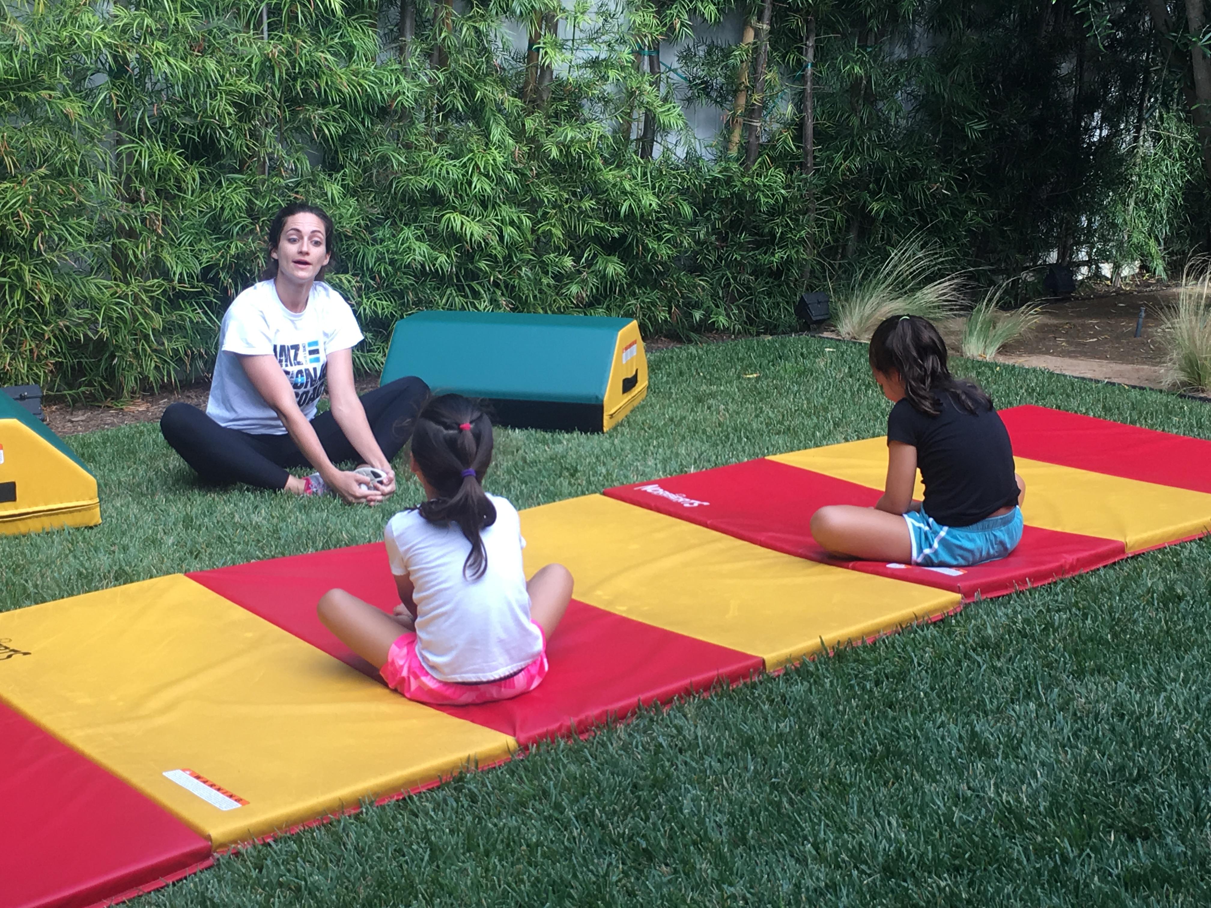 Coach Ashley Mobility Acrobatics Los Ang