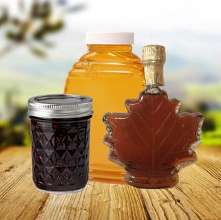 Syrup, Honey, & Preserves