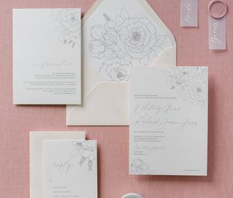 Martha's Vineyard wedding invitations