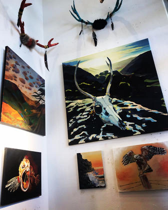 Wall Hangings and Original Art