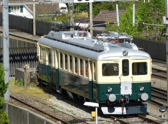 Vom Bahnhof der Rigi-Bahn aus gesehen.