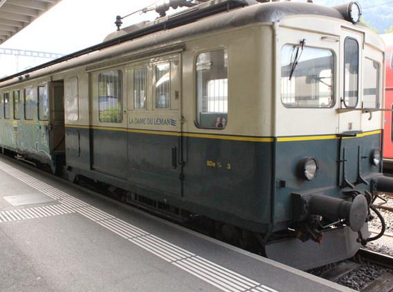 Ankunft in Interlaken Ost