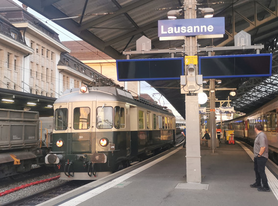 Halt der Mirage in Lausanne