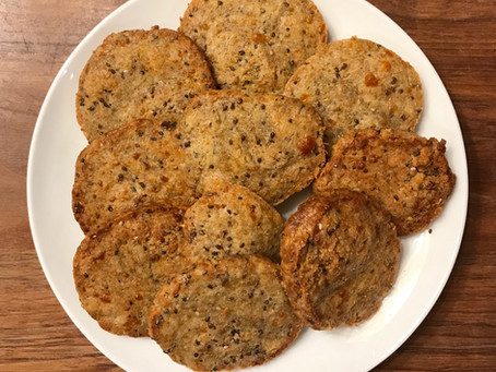 Cheese and Chia Seed Biscuits