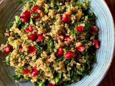 Fresh Quinoa Salad⠀⠀