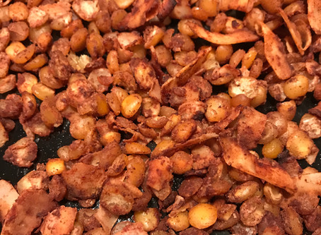 A Super Healthy Sweet Snack: Cinnamon Split Peas