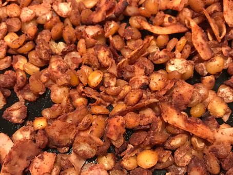 A Super Healthy Sweet Snack: Cinnamon Split Peas