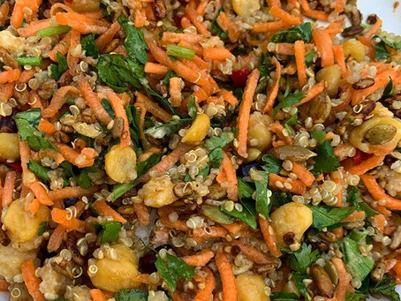 Quinoa & Carrot Salad