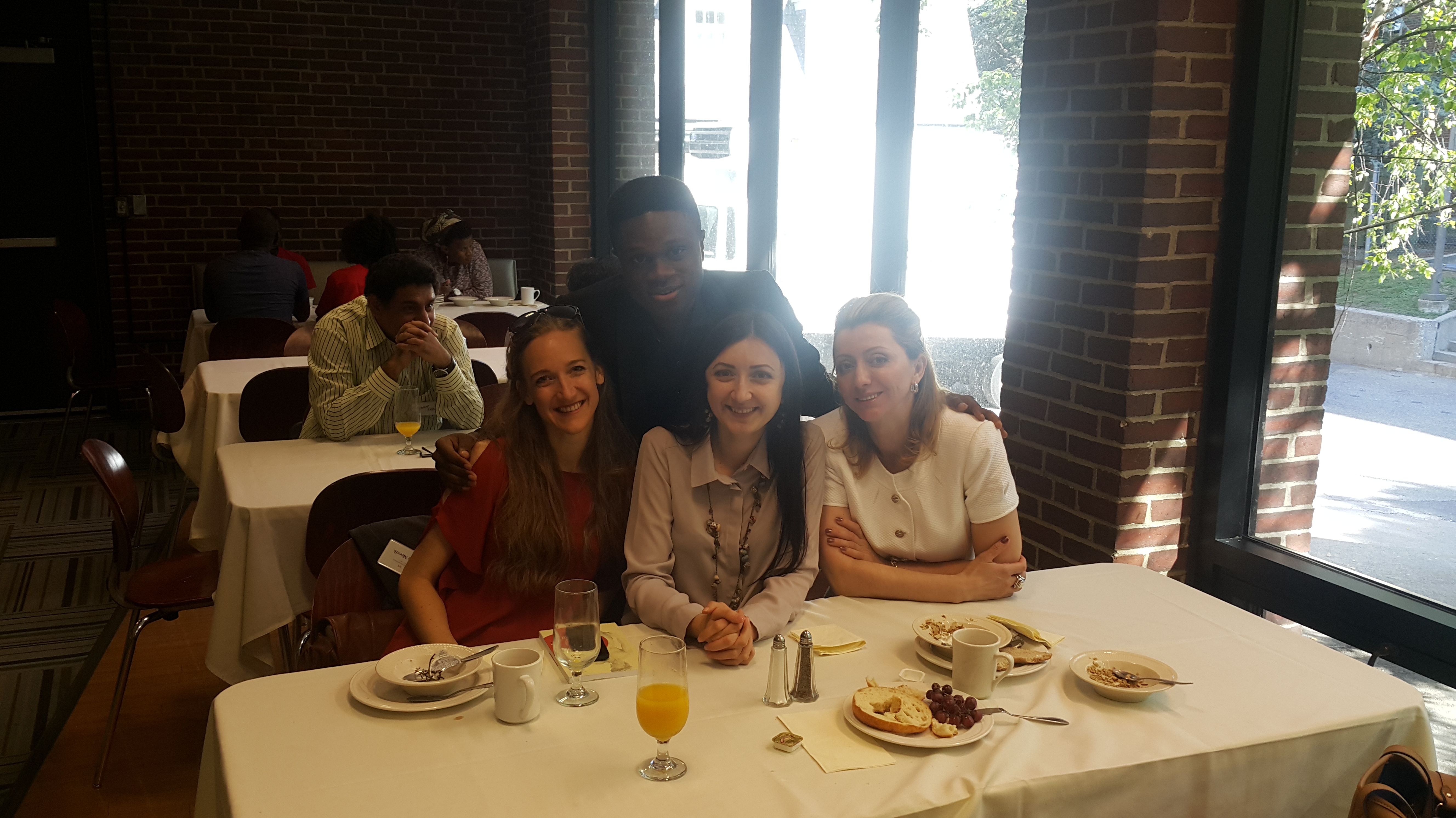 Hillary Maduka with Fellow Participants at the ICNC Summer Institute, USA
