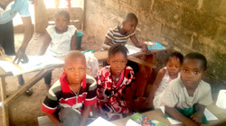 Creating makeshift classrooms