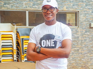 Joshua Alade, Class of 2018, Named Youth Champion by International NGO, ONE Campaign