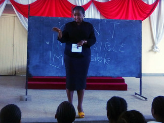 A Message for Our Times: Esther Katiba & PEIFF Partner, MFTH, Educate Kenya's Girls on Sexual As