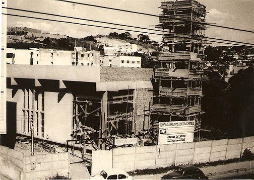 Construçã do templo da Igreja Metodista no bairro São Mateus