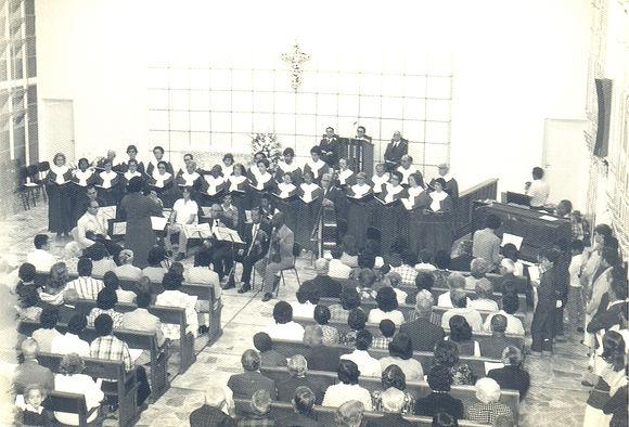Inauguração do templo da Igreja Metodista no bairro São Mateus