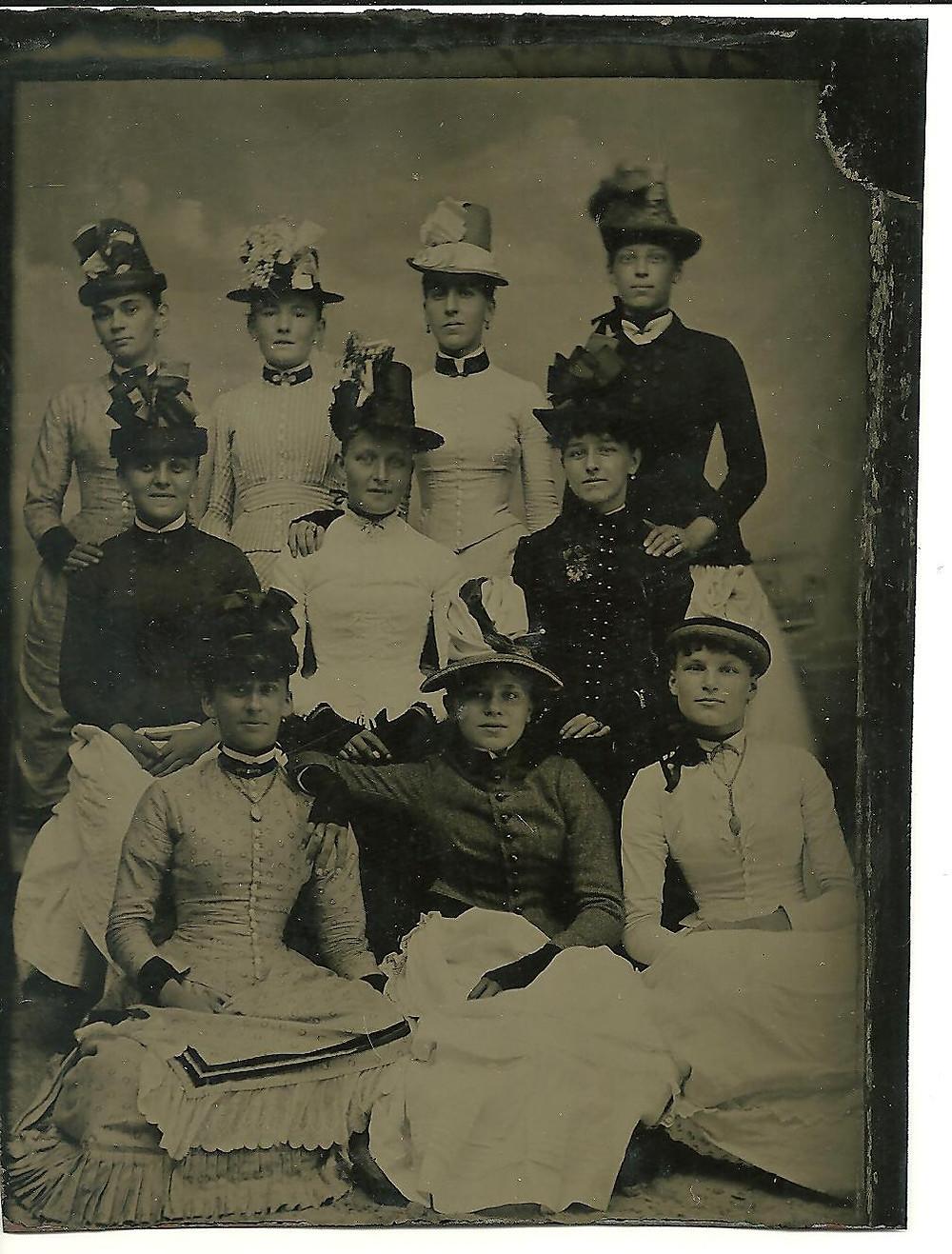 Tintype, Rockaway, 1887