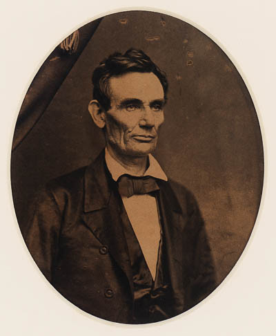 Cole, Roderick.  Abraham Lincoln, 1858.