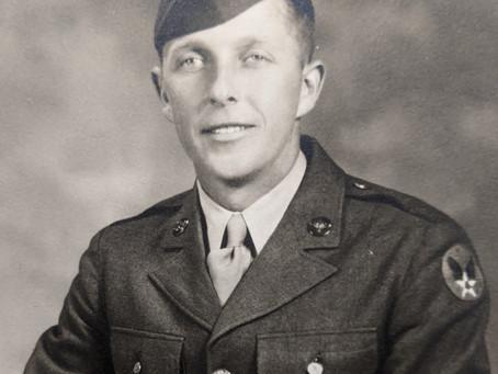 Portrait of a WWII veteran