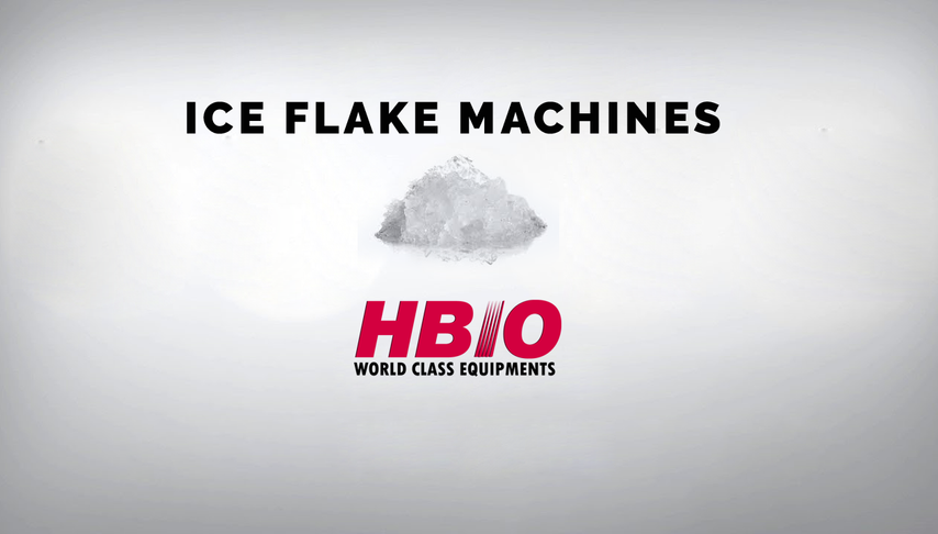 HBIO FLAKE ICE MACHINE