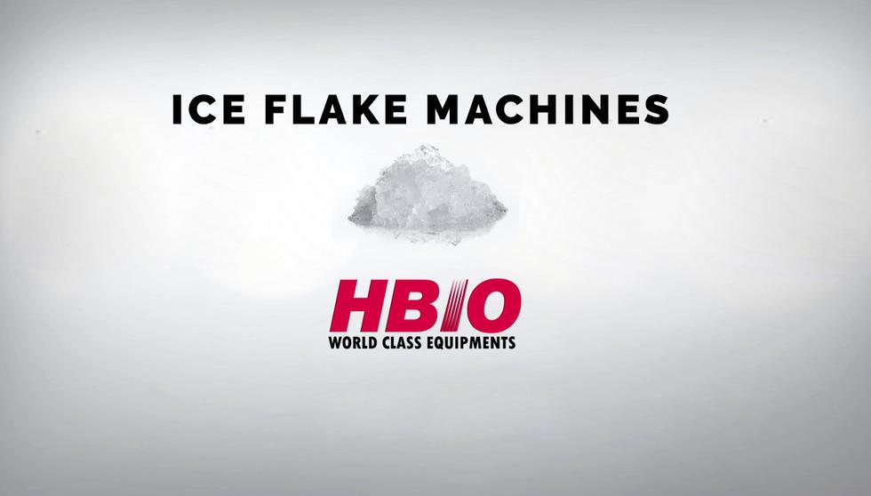 HBIO FLAKE ICE MACHINE