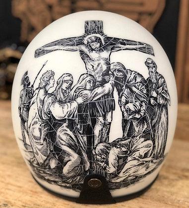 Capacete Custom Jesus