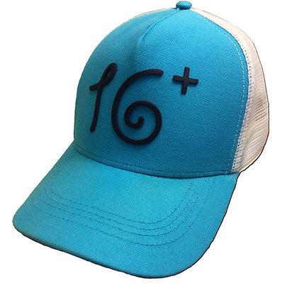 Boné 16+ Azul e Branco