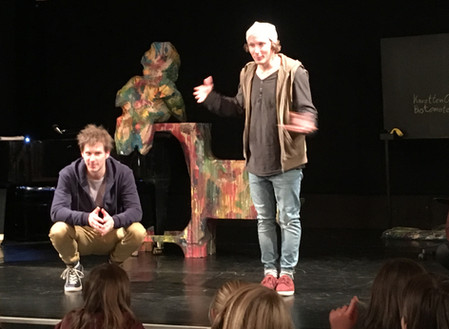 "Theaterbesuch ""Patricks Trick"""