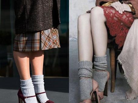 Сочетание несочетаемого: босоножки с носками