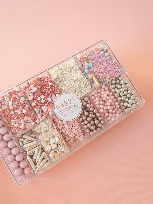 Happy Sprinkles Streuselbox - Pink Dream