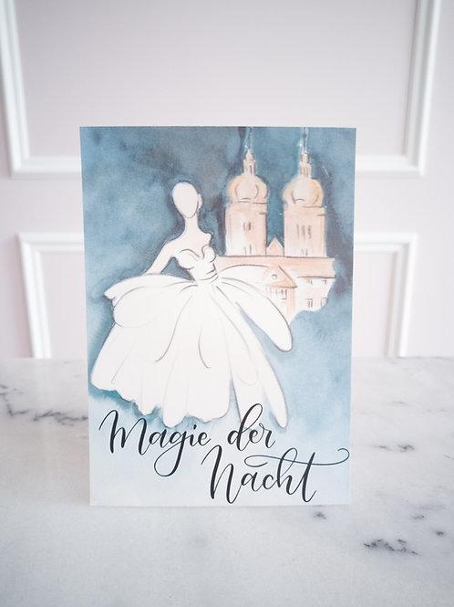 """Grußkarte """"Magie der Nacht"""""""