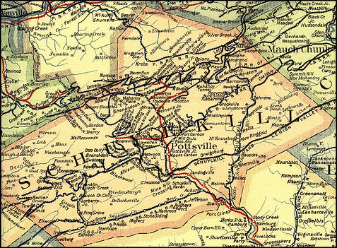 Schuylkill Count rail lines