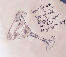 Kate's Under the Arch sketch