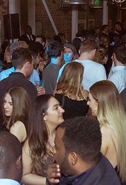 Guests enjoying party night Saturdays at Sama Bankside, London